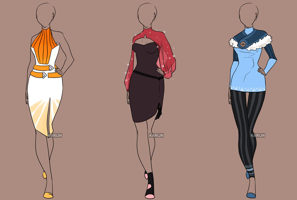 fashion adoptables auction 12 closed by karijn s basement on