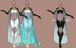 Fashion Adoptable Auction 49 - CLOSED by Karijn-s-Basement