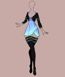 Fashion Adoptable Auction 124 - CLOSED by Karijn-s-Basement
