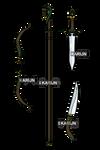 C: Weapon Set (Jade)