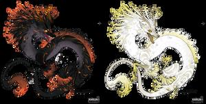 Eastern Dragon Adoptables 2 - OPEN