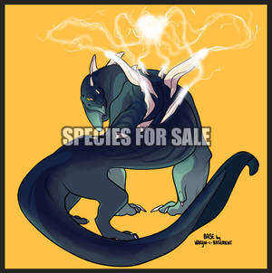 Species Concept and Base for Sale 10 - OPEN