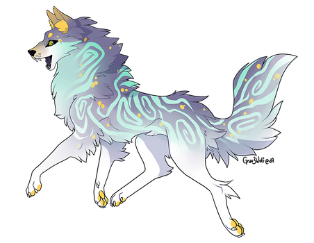 Wolf/Canine Design 4 - OPEN
