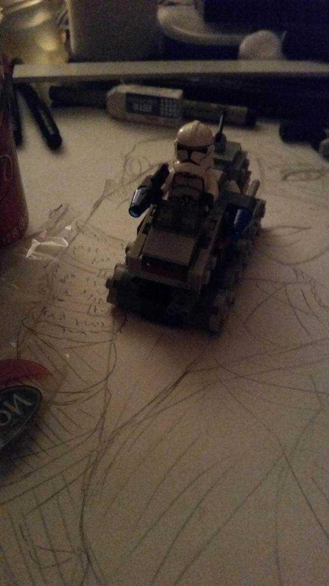 Lego man! by roailia