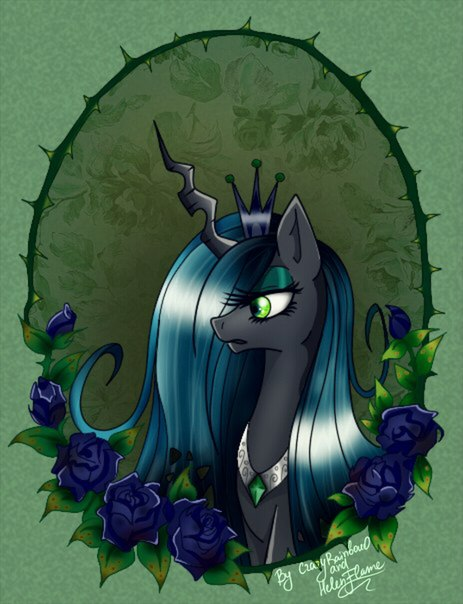 MLP: Queen Chrysalis by HelenFlame