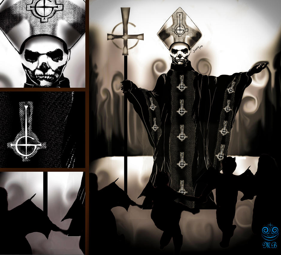 Papa Emeritus by JazminMb