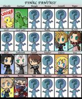 Keychains: Final Fantasy