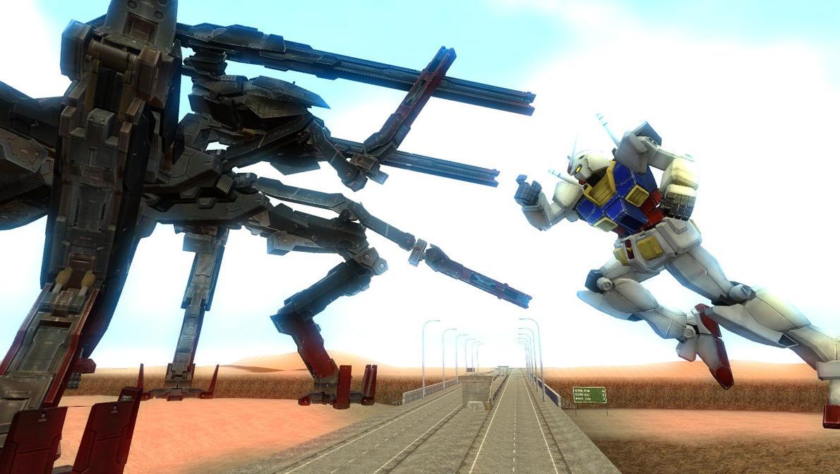 Gundam VS Excelsus by tuestpwned