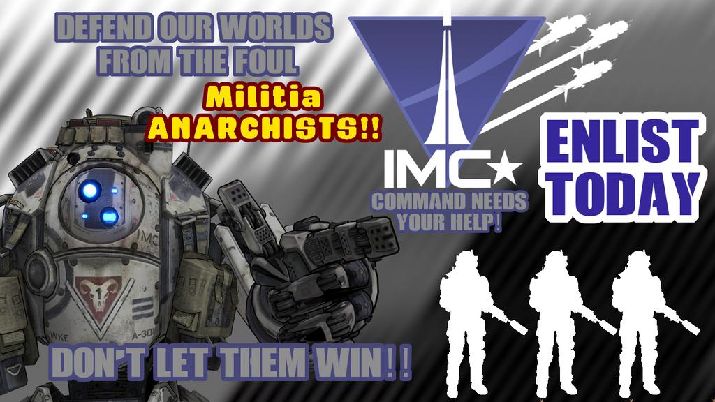IMC Propaganda Poster by tuestpwned