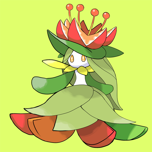 Mega Lilligant by MegaRezfan on DeviantArt