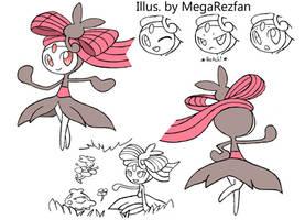 Meloetta Marvel Form by MegaRezfan
