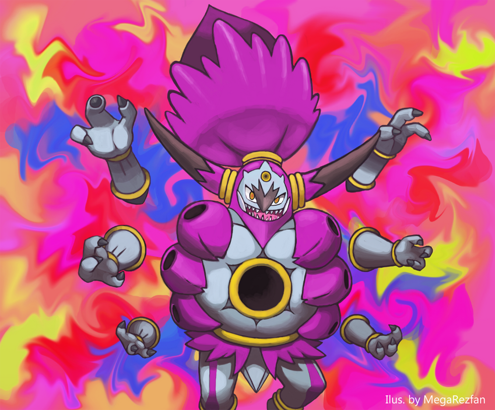 For a mere 3 days, Hoopa shall be Unbound by MegaRezfan on DeviantArt