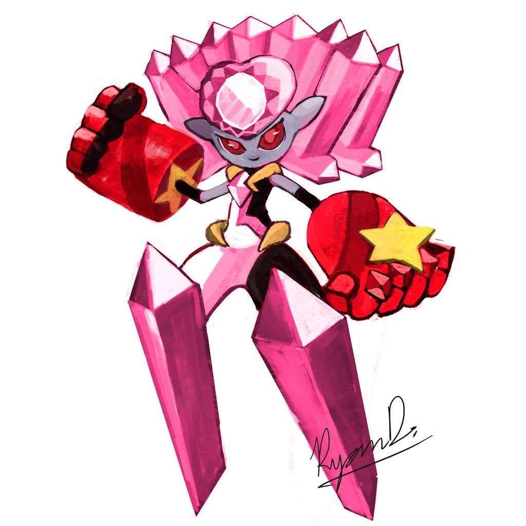 Mega Diancie G!!! by MegaRezfan on DeviantArt
