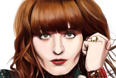 Florence Welch by MegaRezfan