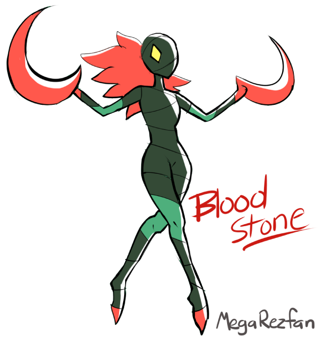 Fan Gem - Bloodstone by MegaRezfan on DeviantArt