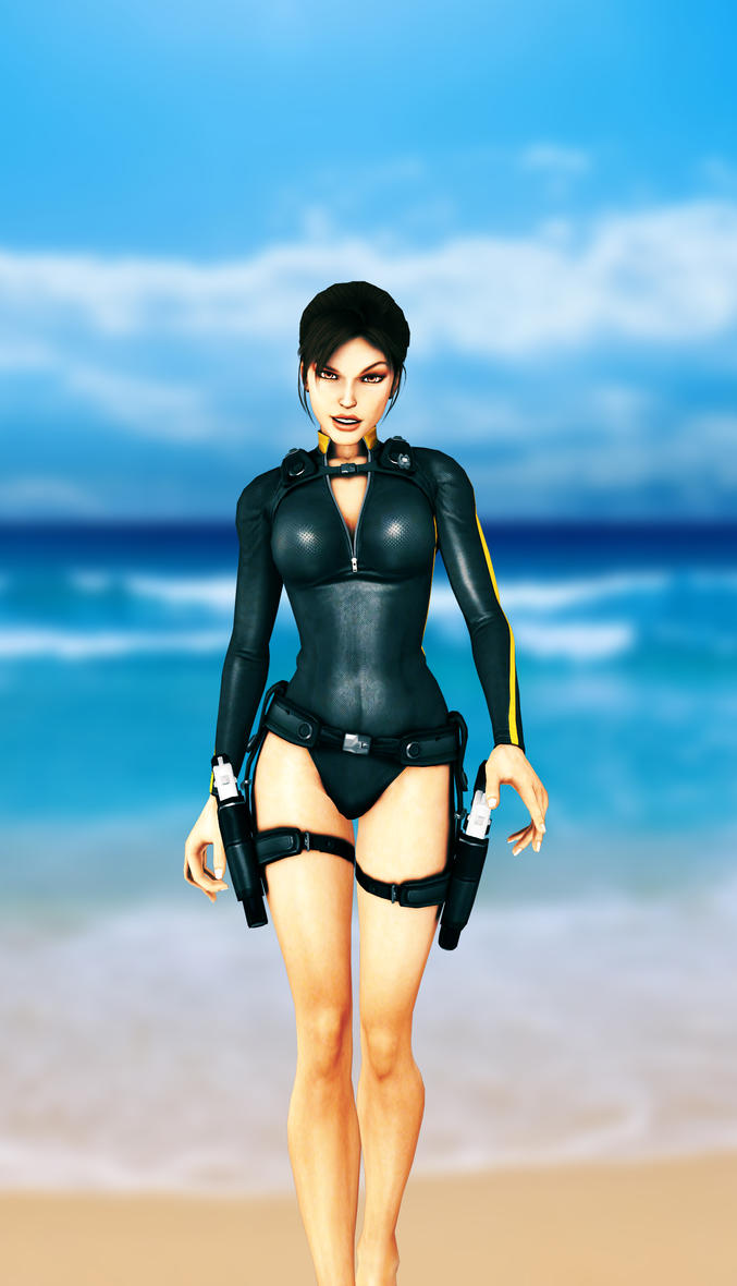 Lara Croft Wetsuit by KSE25