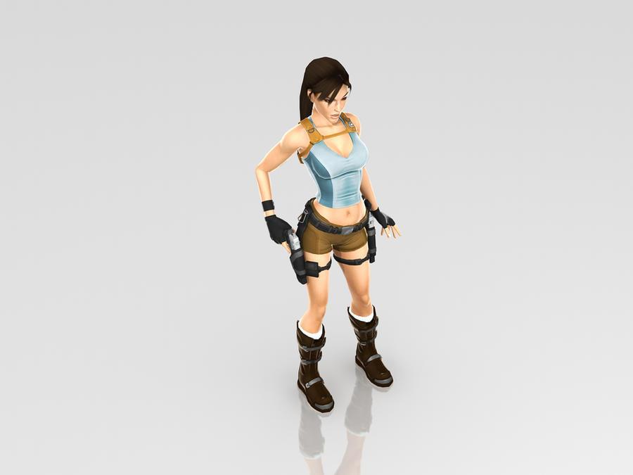 Lara Croft by KSE25