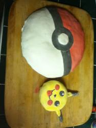 Pika Cake by sunaookami