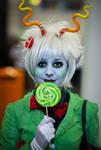 Callie Ohpeee/ Calliope cosplay 1 by MultiColouredMonster