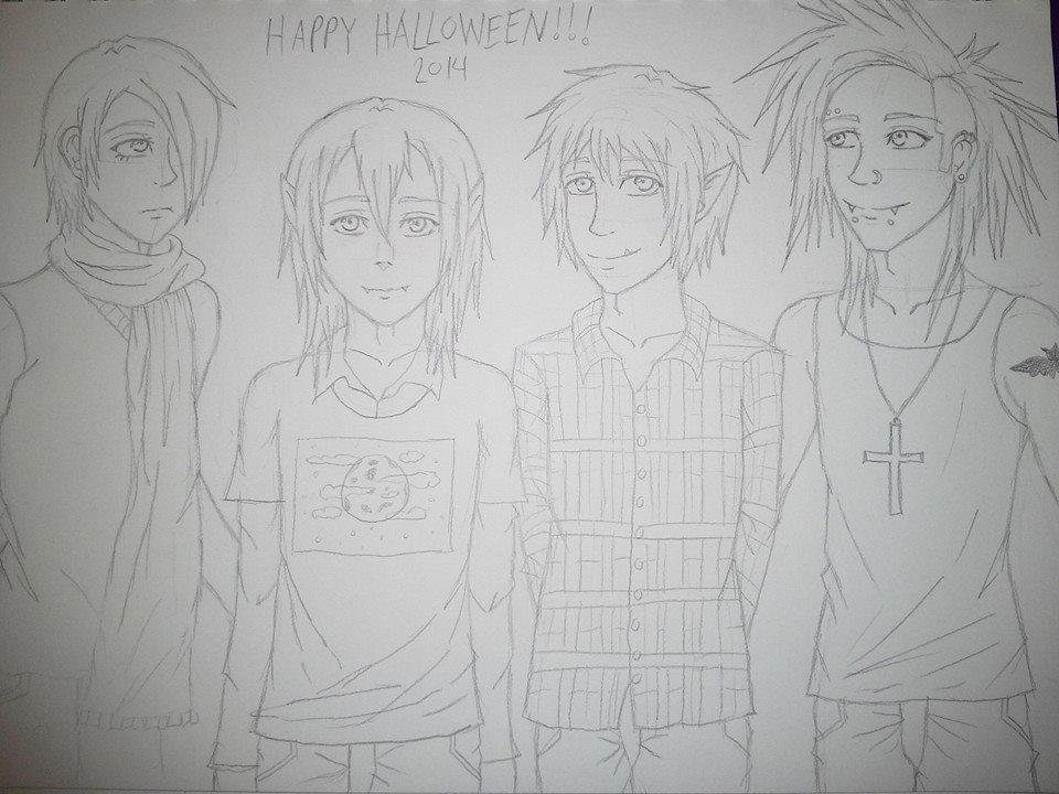 Happy Halloween! by ShinyUmbreon01