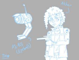 Archer/Eyeball -sketch-