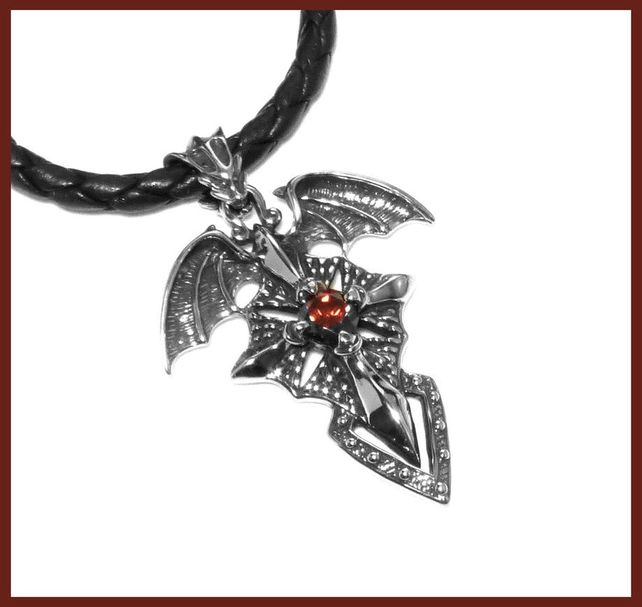 Order of the dragon pendant on nappa leather by goodspiritwolf on order of the dragon pendant on nappa leather by goodspiritwolf aloadofball Gallery