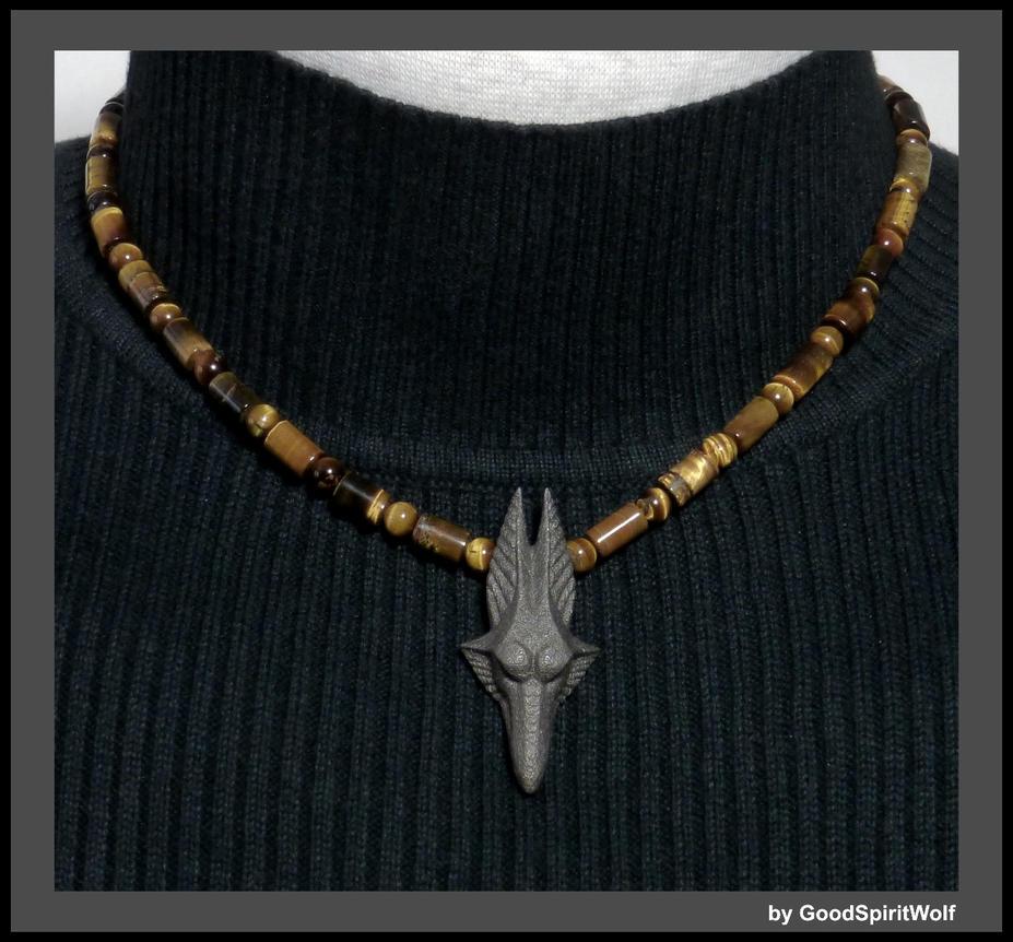 Bronze egyptian god anubis wolf head necklace by goodspiritwolf on bronze egyptian god anubis wolf head necklace by goodspiritwolf aloadofball Images