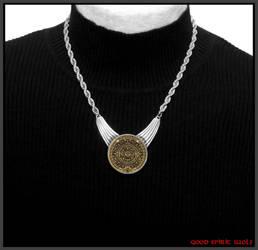 Introducing My Original Design Festoon Necklace by GoodSpiritWolf