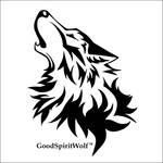 Good Spirit Wolf Graphic Design