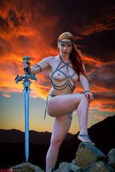 Sunset Warrior by Mac--Photo