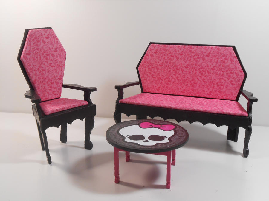 Monster High Furniture - Dining Room by monsterminicustoms on DeviantArt