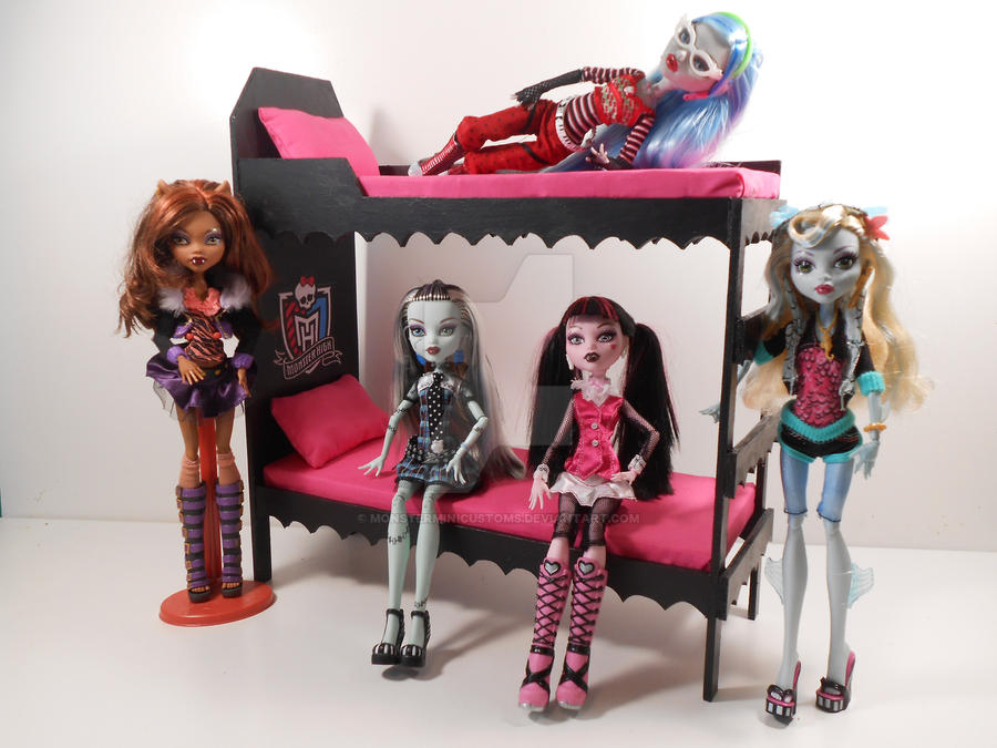 Monster High Furniture Fireplace 2 By Monsterminicustoms On