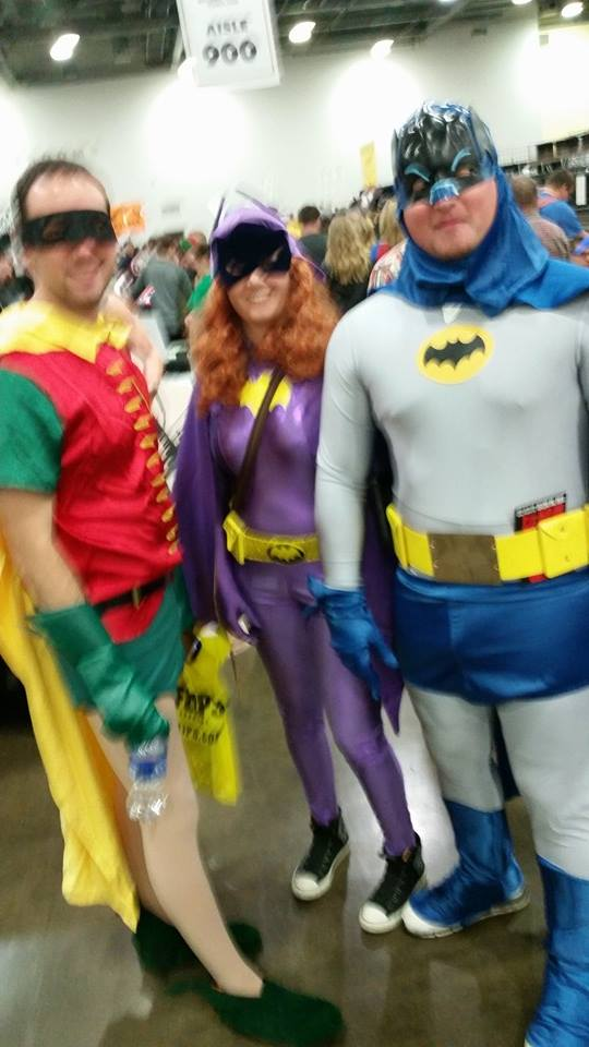 Jumpin' Comic Con, Batman! by MrTrekkie204