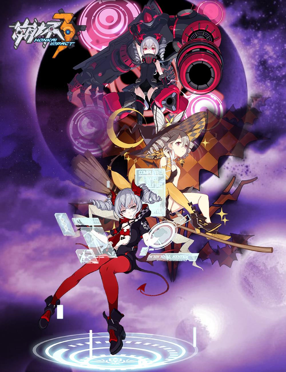Honkai Impact 3 Wallpaper Stigmata Bronya By Masouoji On