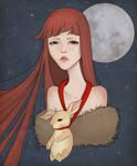 Moon Girl -rabbit