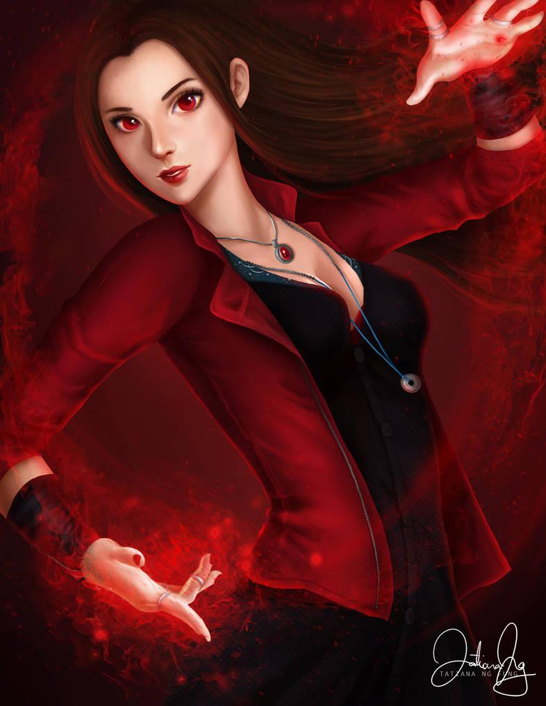 Scarlet Witch/Wanda Maximoff