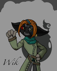 Wik Shortfuse, at your service! by howolf12