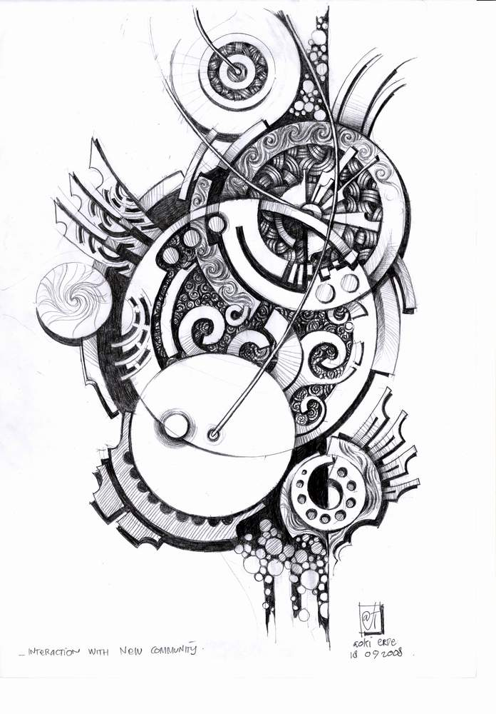 My art hand drawings by aokiduank on deviantart for Art and craft drawing and painting