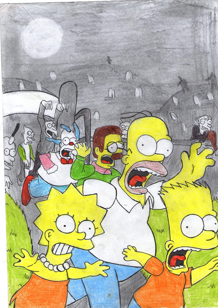 Simpson run for zompiy by fairyloves