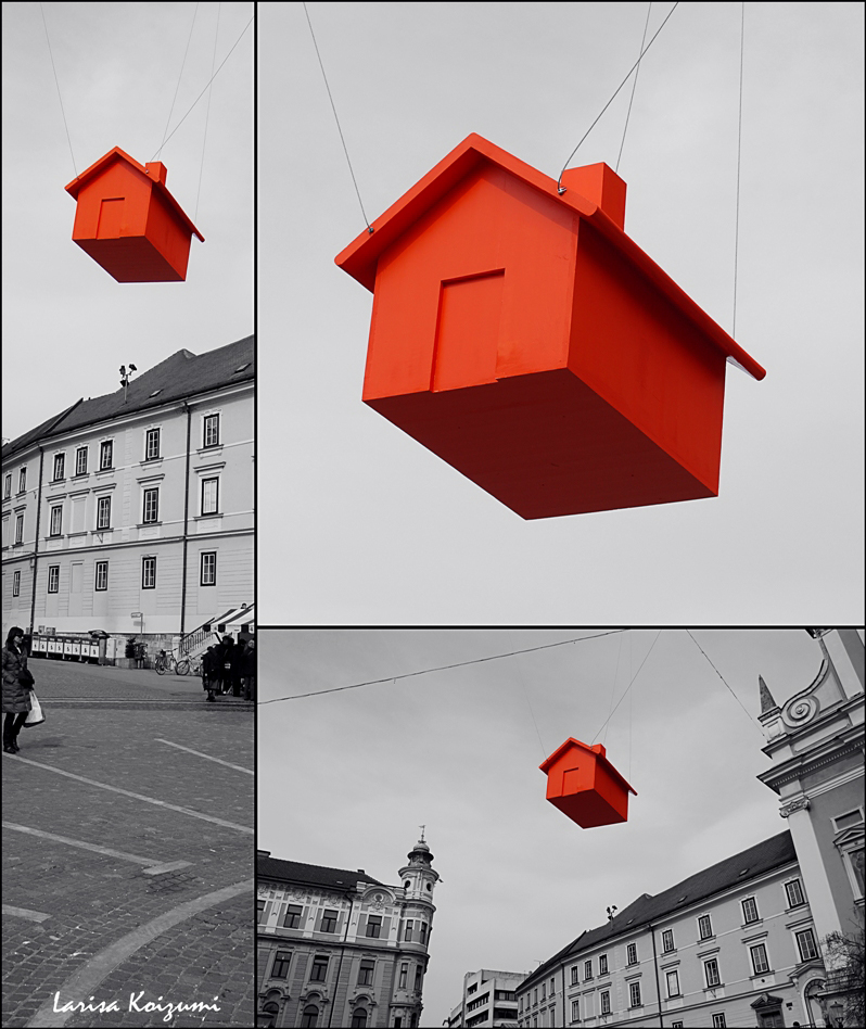 Wizard Of Oz Flying House Flying.House by...