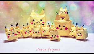 .::Origami::Pikachu::.