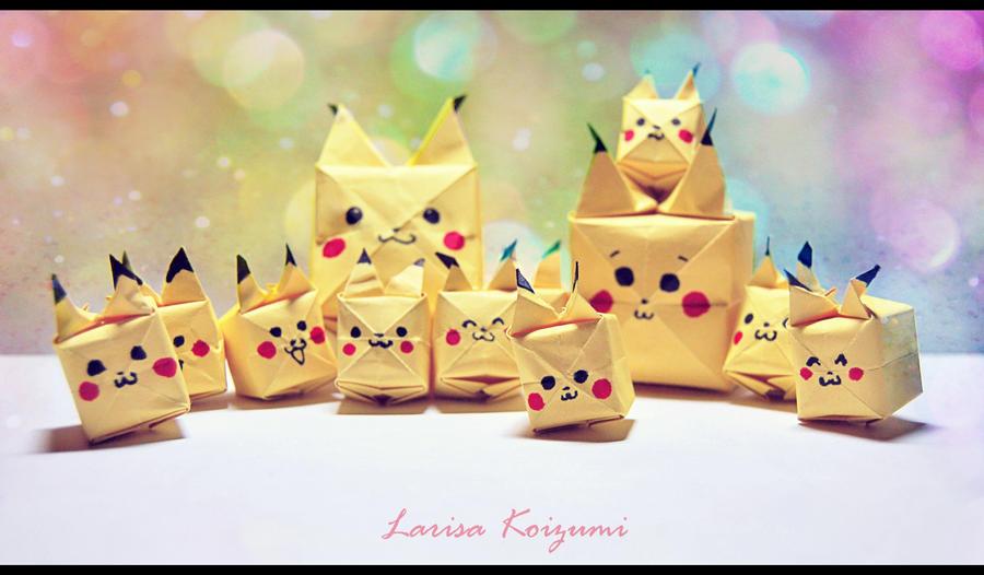 OrigamiPikachu By LeKikwi On DeviantArt