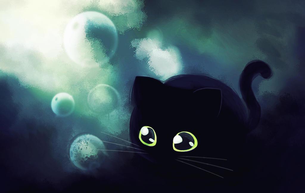Bubble cat. by leKikwi