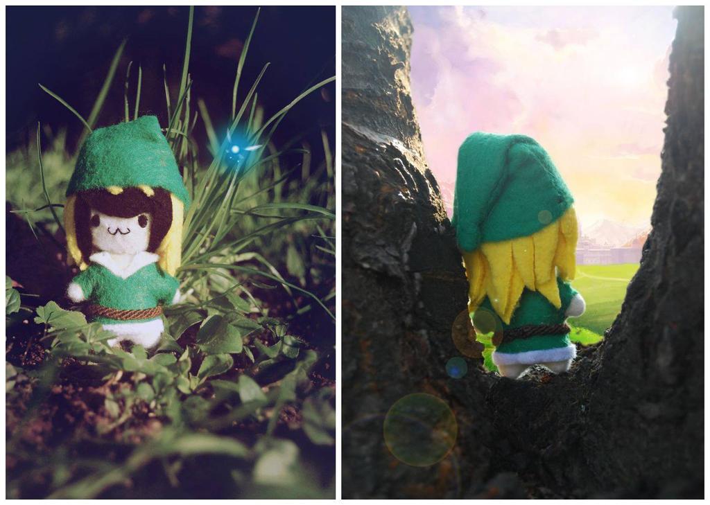 Chibi Link styled Me. by leKikwi