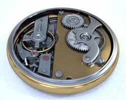 pocket watch WIP 4 back by zipper