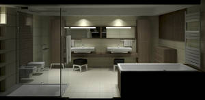 Bathroom Viz - Night - 3