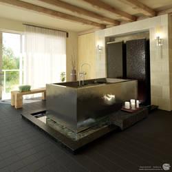 Japaneese bath by zipper
