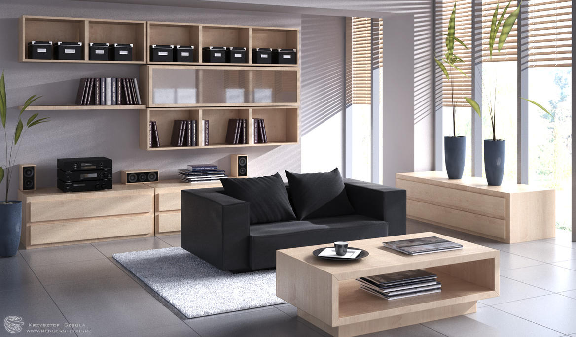 Living room by zipper