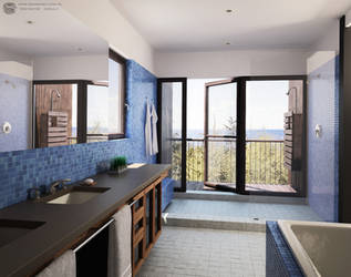 Sea Bathroom