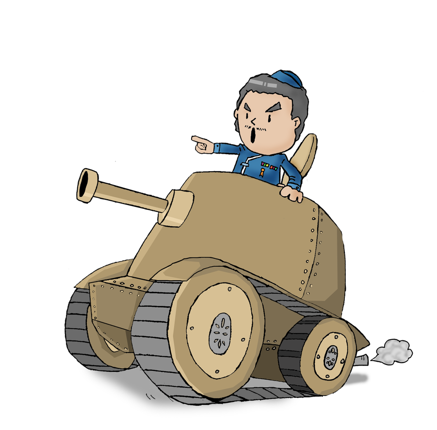 Chibi Tank by Comepacmans on DeviantArt